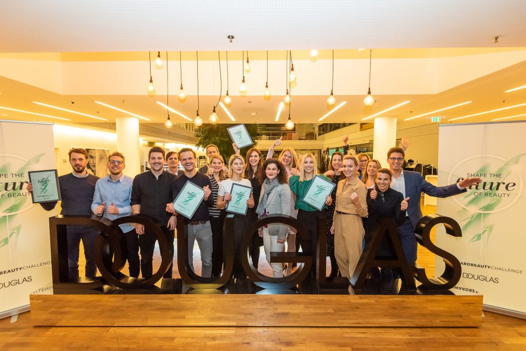Beauty start-ups KLARSKIN and BEARS WITH BENEFITS win Douglas #FORWARDBEAUTYChallenge
