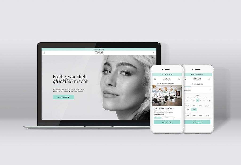 Douglas Beauty Booking – The new online booking platform for beauty services in Berlin